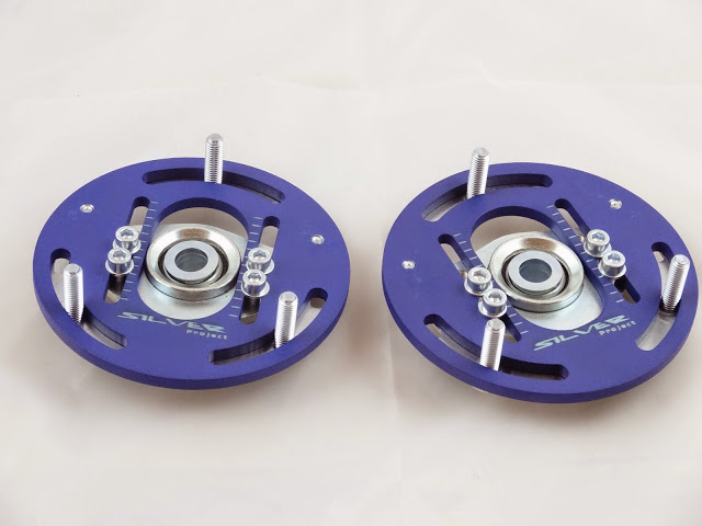 Camber-Plates-E30-3D-true-professionals-Drift-BMW-for-coilover-Domlager-blue-1 (1)
