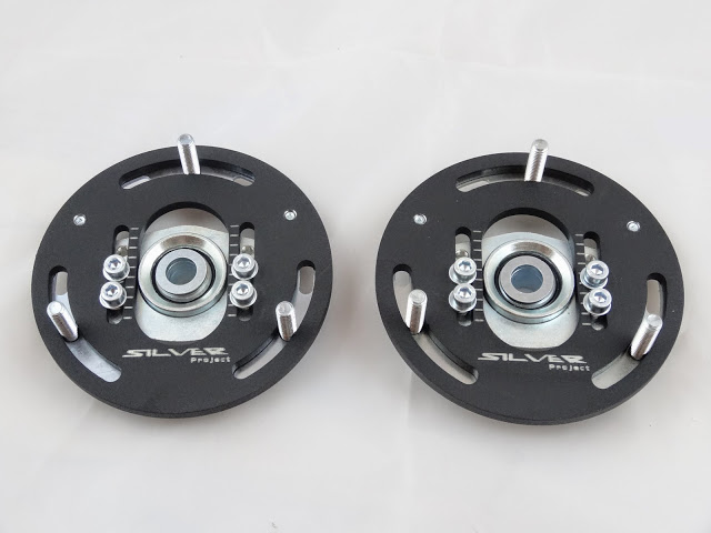 Camber-Plates-E46-3D-true-professionals-Drift-BMW-for-coilover-Domlager-black-1
