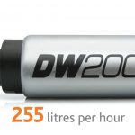 Pompa paliwa DW200 DeatschWerks (255lph), Nissan 370Z 09+ zestaw monta¿owy 9-1020