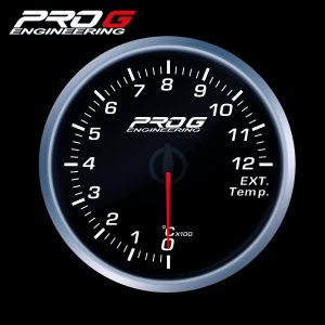 WskaŸnik Pro G Race Series RS, temperatury spalin EGT °C WHITE 60mm