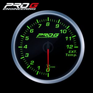 WskaŸnik Pro G Race Series RS, temperatury spalin EGT °C GREEN 60mm
