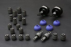 CIVIC EF SI 88-91 COMPLETE BUSHING KIT (HARDEN RUBBER) 26PCS/SET